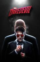 Daredevil (2015) - TV Poster by CAMW1N