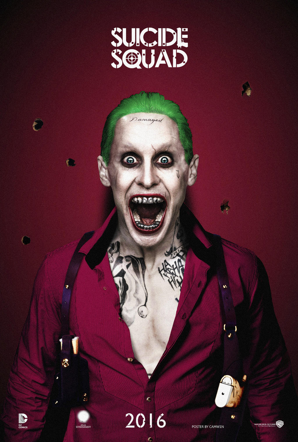 Jared Leto as The Joker #3 - Suicide Squad (2016) by ...