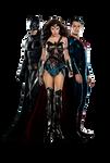 Batman V Superman - Textless EW Cover PNG