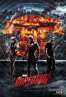 Daredevil - Season 2 Poster (2016) by CAMW1N