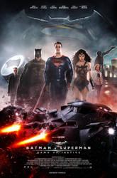 Batman V Superman (2016) - Theatrical Poster by CAMW1N