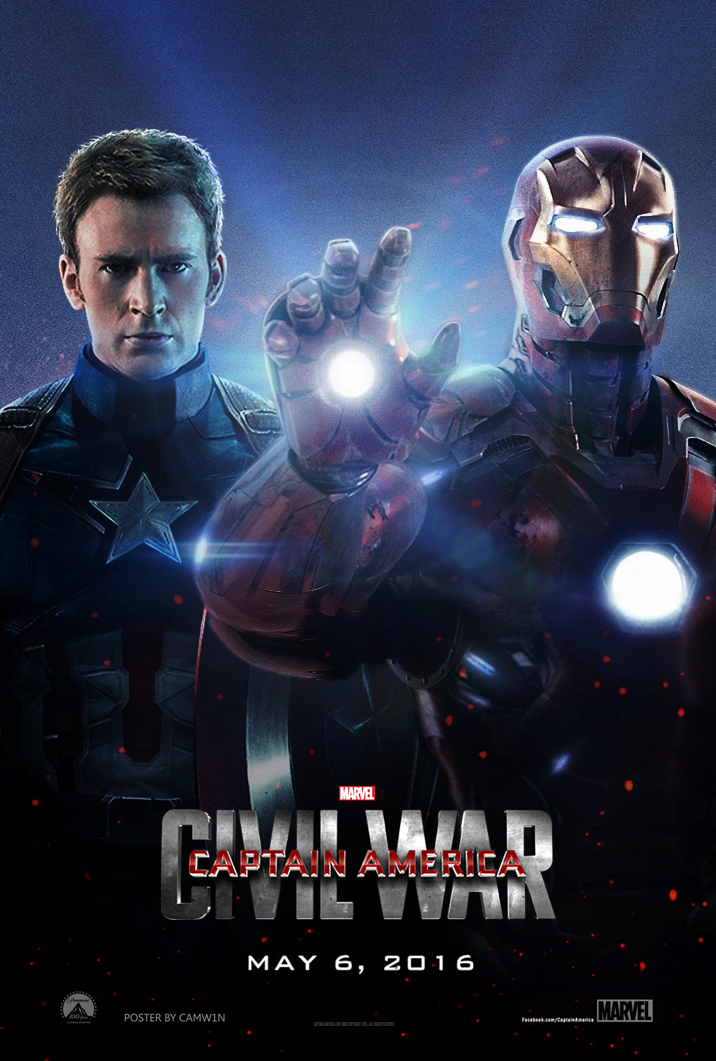 Captain America Civil War 2016 Poster By Camw1n On Deviantart