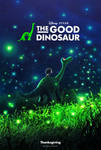 The Good Dinosaur (2015) - Poster