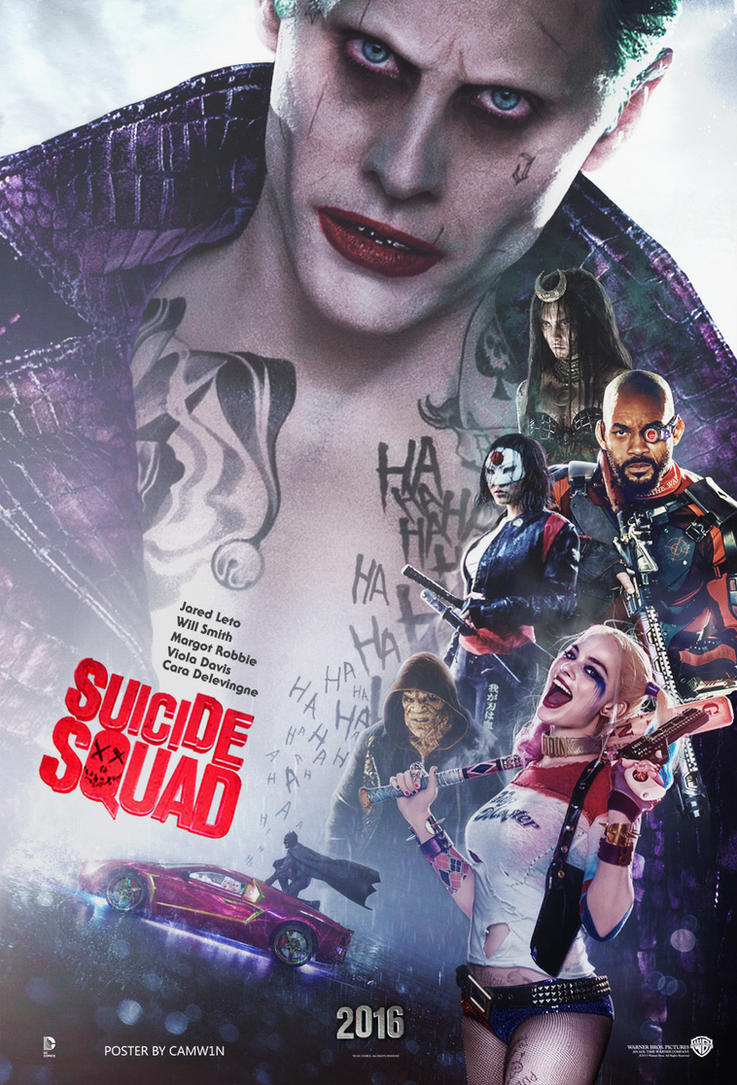 Suicide Squad (2016) English Blu-Ray – 480P | 720P – x264 – 450MB | 1GB – Download With Bangla Subtitle