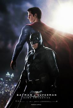 Batman V Superman (2016) - Day vs Night Poster 1