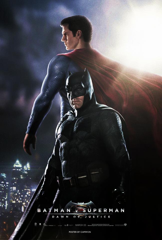 Batman V Superman (2016) - Day vs Night Poster 1 by CAMW1N ...