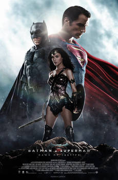 Batman V Superman - Trinity Poster C