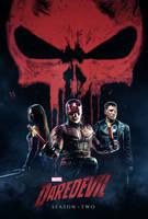 Daredevil Season 2 - Poster by CAMW1N