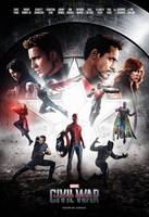 Captain America: Civil War (2016) - Poster # 4 by CAMW1N
