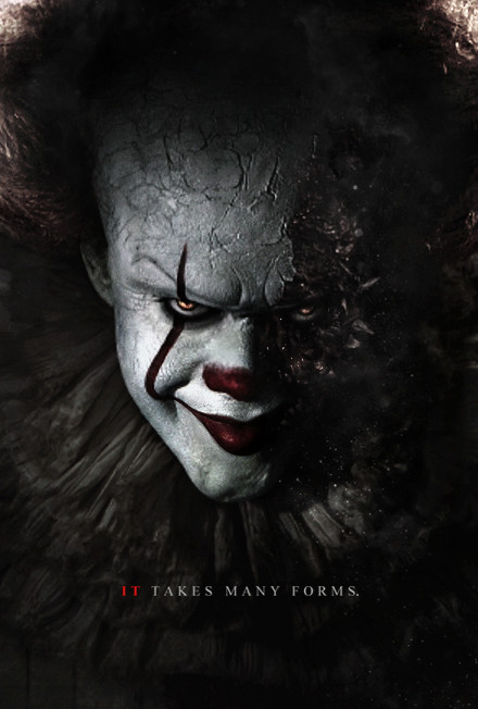 Stephen King S It 2017 Pennywise Poster By Camw1n On Deviantart