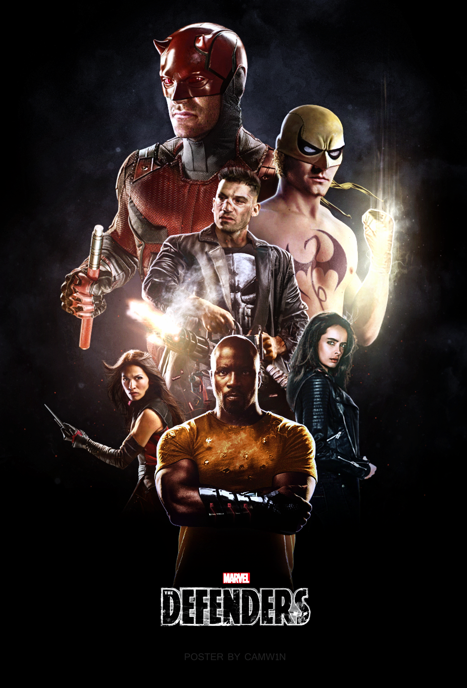 The Defenders (2017) - Poster 2 by CAMW1N on DeviantArt