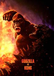 Godzilla Vs. Kong (2020) - Poster 4 by CAMW1N