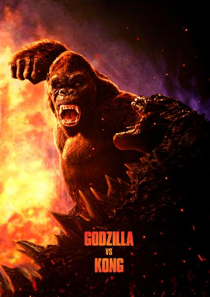Godzilla Vs. Kong (2020) - Poster 4 by CAMW1N on DeviantArt