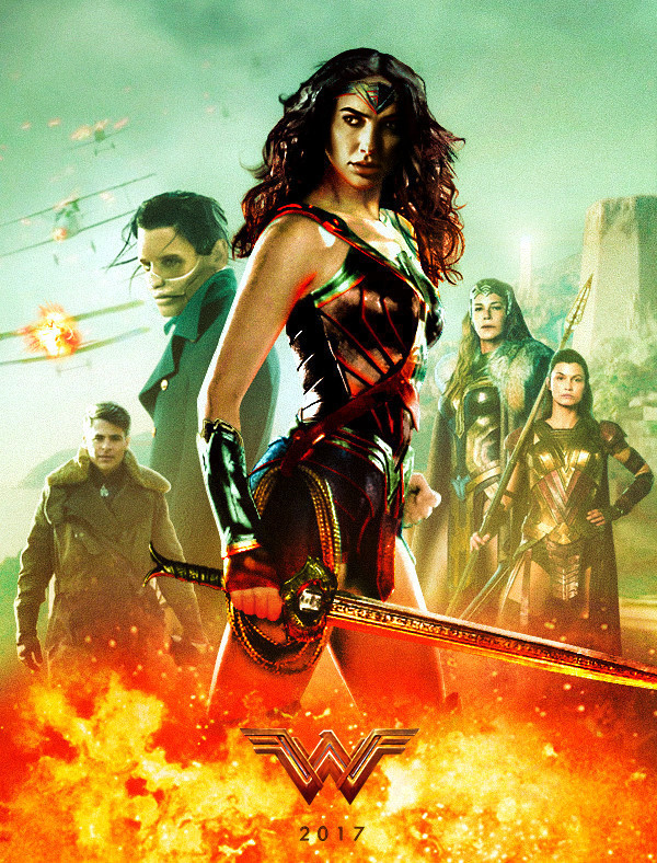 Image result for wonder woman poster 2017