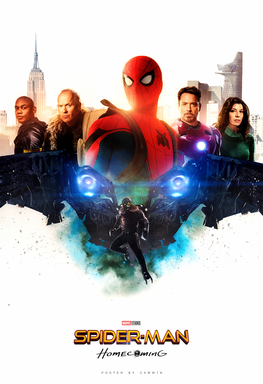Spider-Man: Homecoming Poster 2 by CAMW1N on DeviantArt Tobey Maguire Movies 2017