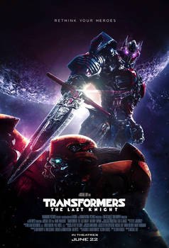 Transformers The Last Knight (2017) Poster 2