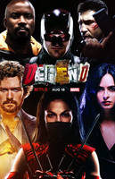 The Defenders (2017) - Netflix Poster 3 by CAMW1N