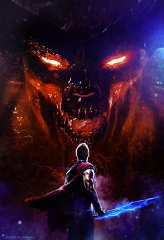 Thor - Ragnarok (2017) Surtur Poster