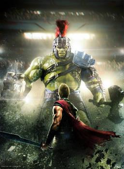 Thor: Ragnarok (2017) Hulk Poster