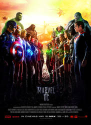 Marvel Vs DC - Theatrical Poster by CAMW1N