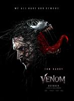 Venom (2018) - Poster 2 by CAMW1N