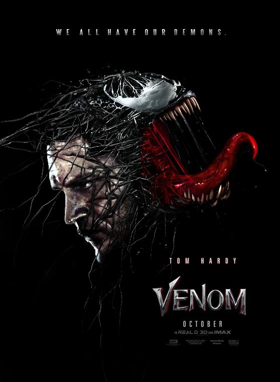 Venom (2018) - Poster 2 by CAMW1N on DeviantArt