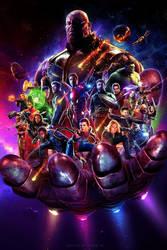 Avengers: Infinity War (2018) - Fan Poster