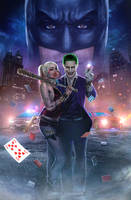 Joker and Harley Poster by CAMW1N