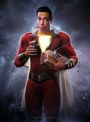 Shazam! (2019) Fan Poster by CAMW1N