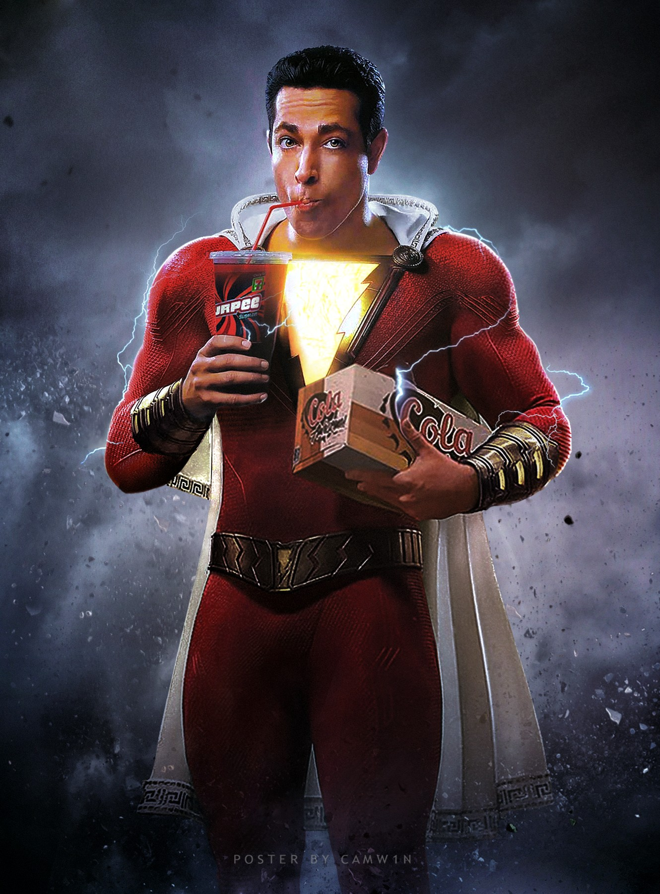 Shazam! (2019) Fan Poster by CAMW1N on DeviantArt