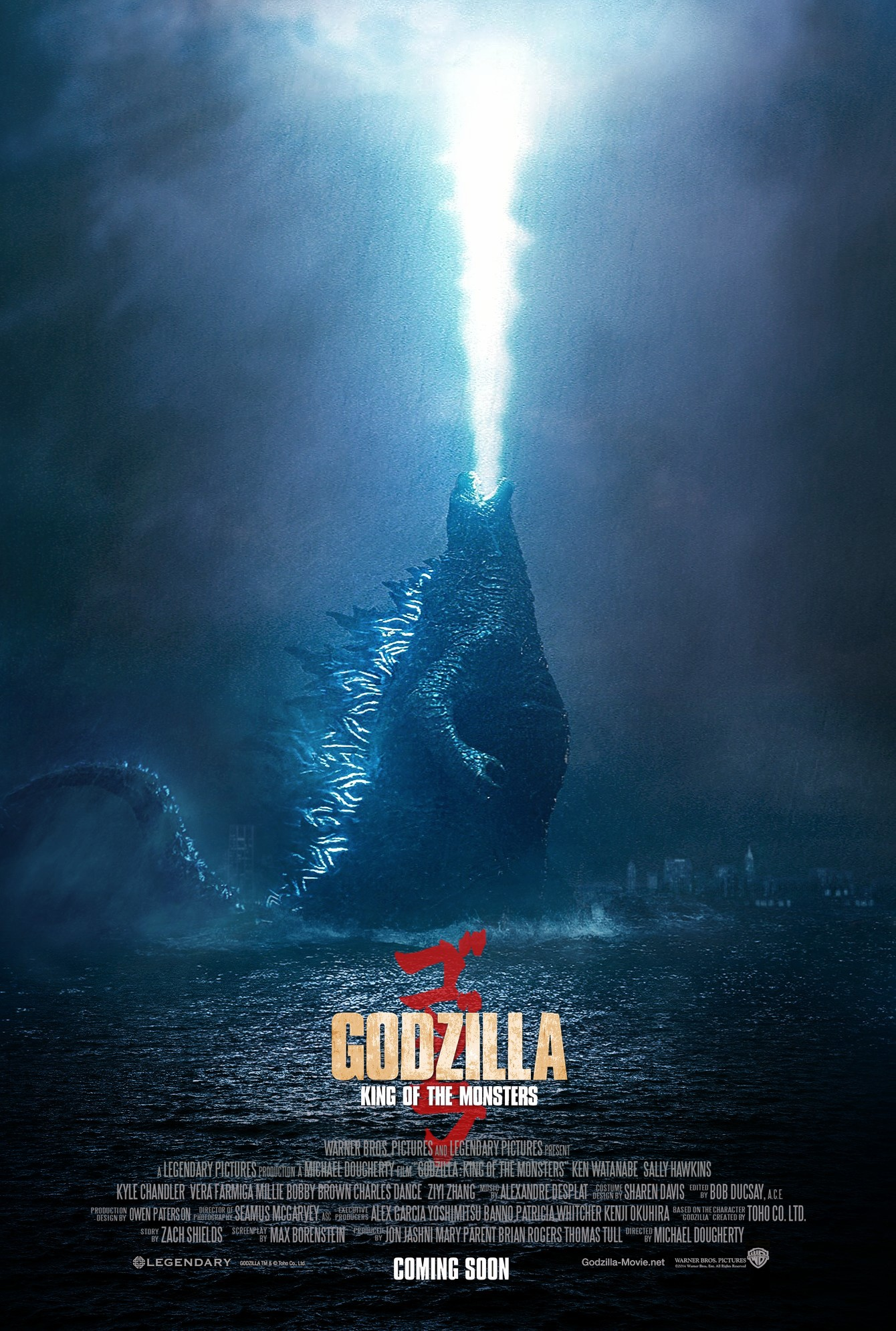 Godzilla King Of The Monsters 2019 Poster 1 By Camw1n On Deviantart