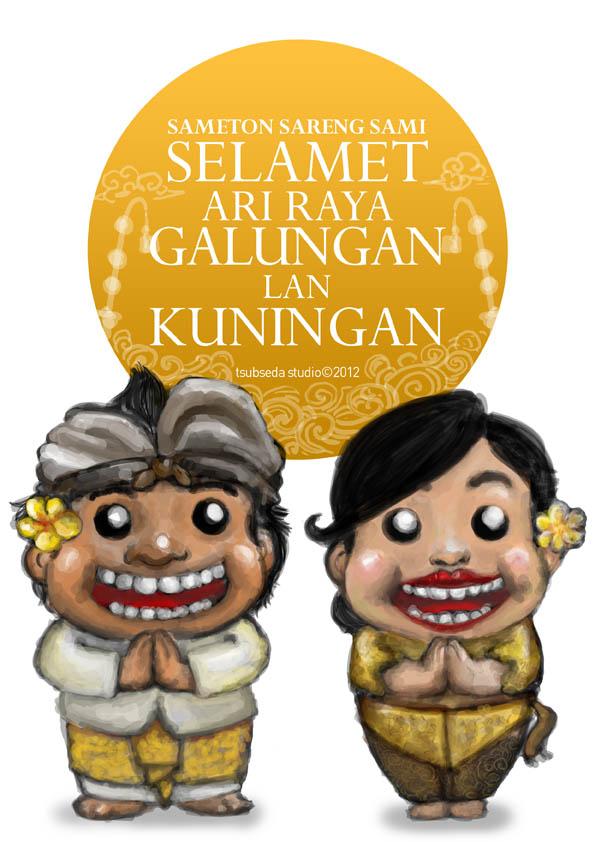 Happy Galungan-Kuningan by adesbust on DeviantArt