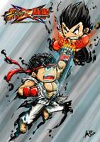 Ryu vs Jin by adesbust