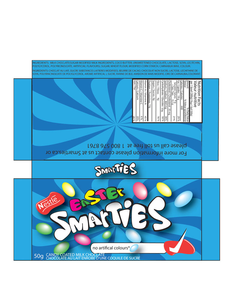 Easter Smarties Box By Rusak S