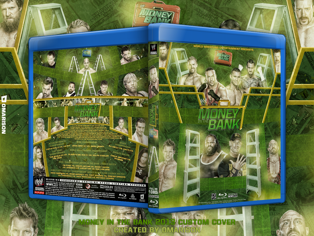 WWE Money In The Bank 2013 Blu Ray Cover by Omarison