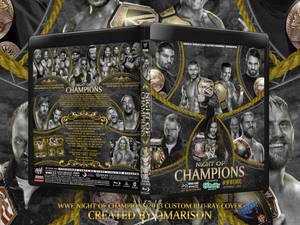 WWE Night Of Champions 2013 Blu-Ray Cover