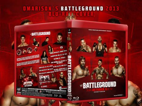 WWE Battleground 2013 Blu-Ray Cover