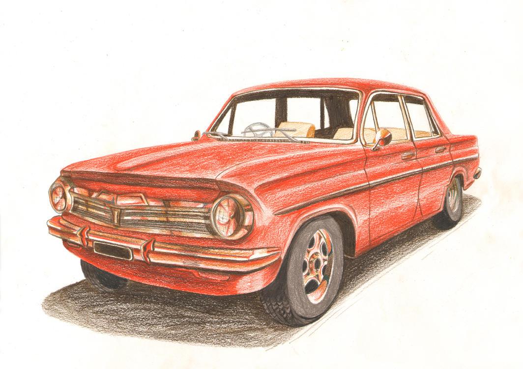 color pencils car by vrm1979 on deviantart. Black Bedroom Furniture Sets. Home Design Ideas