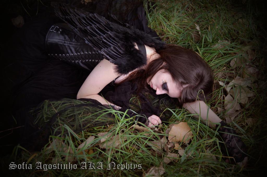 Fallen Angel V by Lady-Nephtys