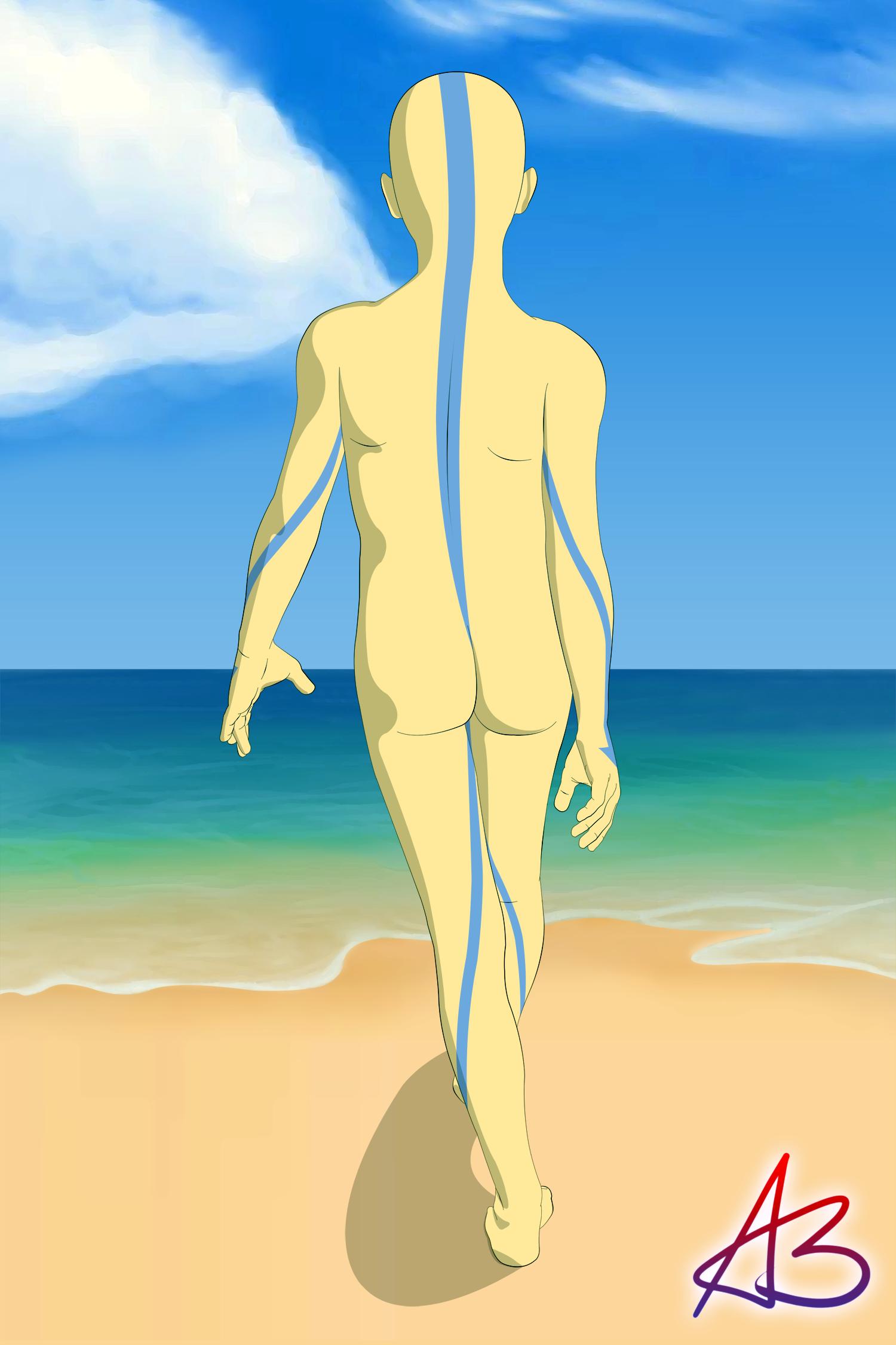 last naked the katara Avatar airbender