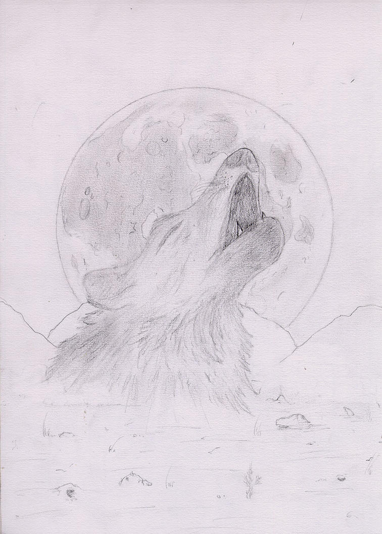 Howling At The Moon by TheWorldsFake