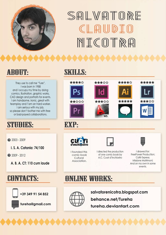 creative resume design inspiration