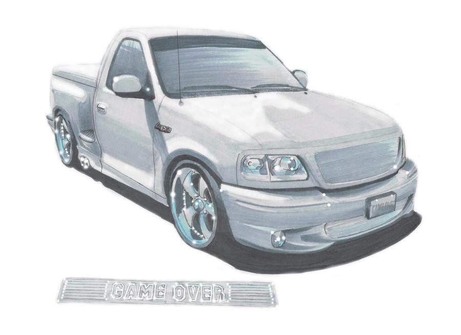 2002 Ford Lightning SVT By Classic Art JP