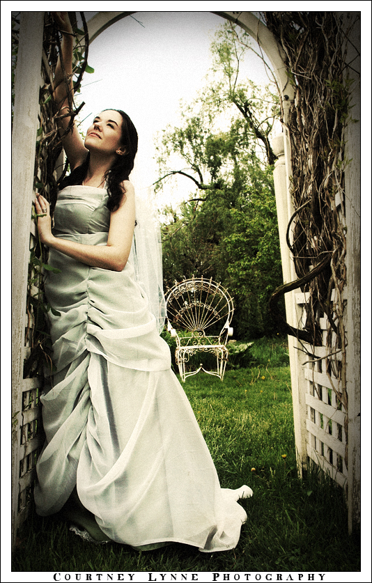 Nature Inspired Wedding Gown By Satsukei On Deviantart