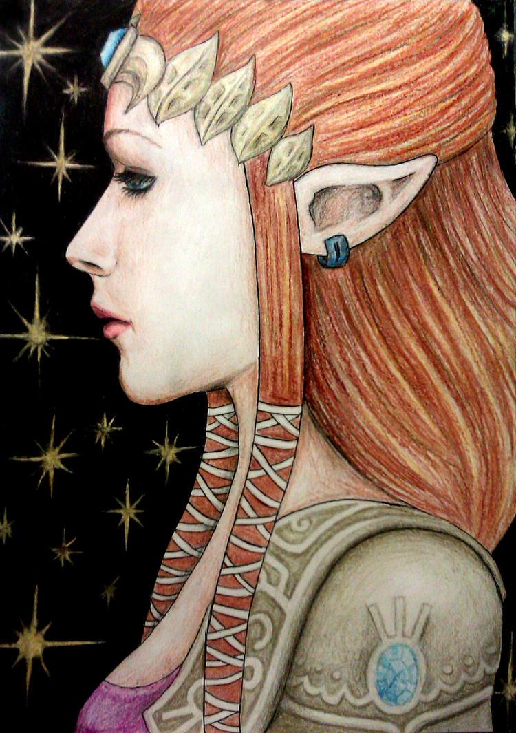 Princess Zelda by sophielights