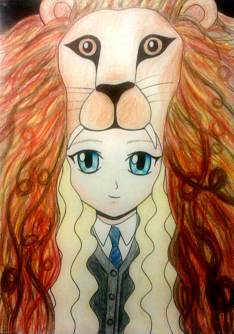 Luna Lovegood by sophielights