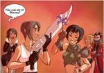 Squall vs. Yuffie