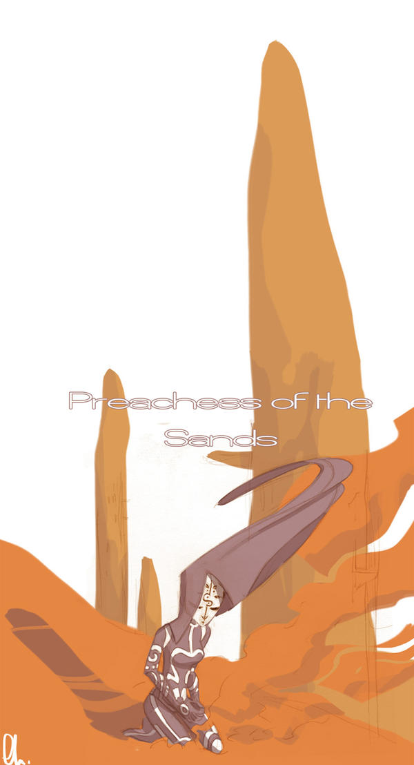 Preachess of the Sands by batlesbo