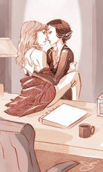 SWANqueen by chlove-art