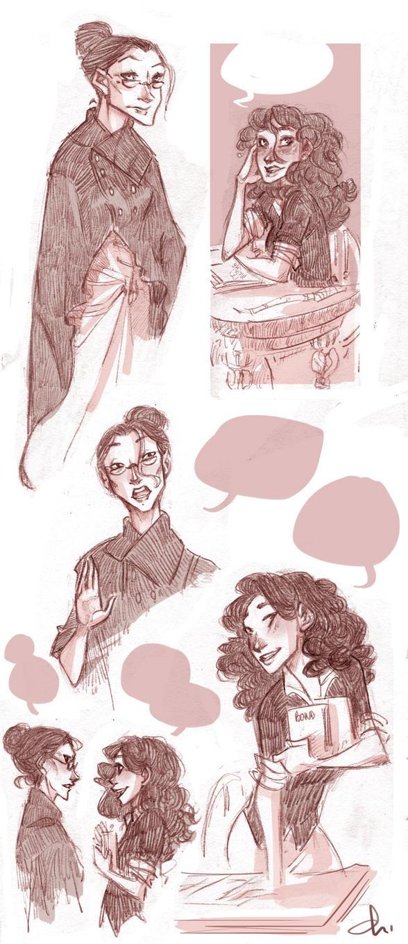 Working again, Hermione? by batlesbo